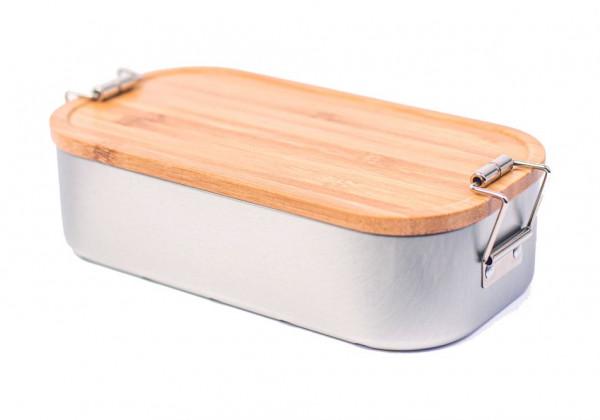 Lunchbox mit Bambusdeckel