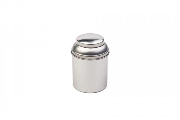 Okrągła puszka na herbatę