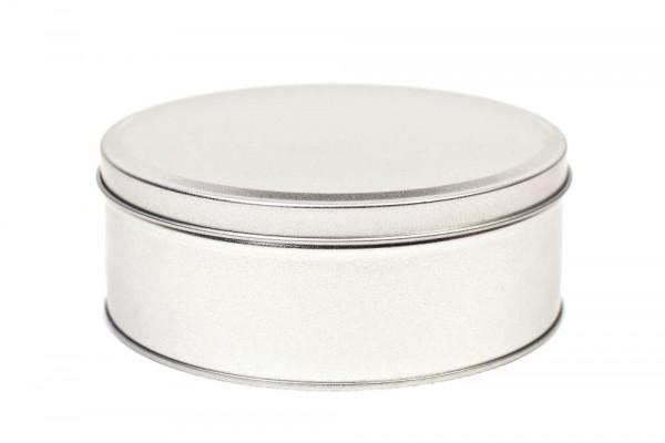 Okrągłe metalowe pudełko na wypieki