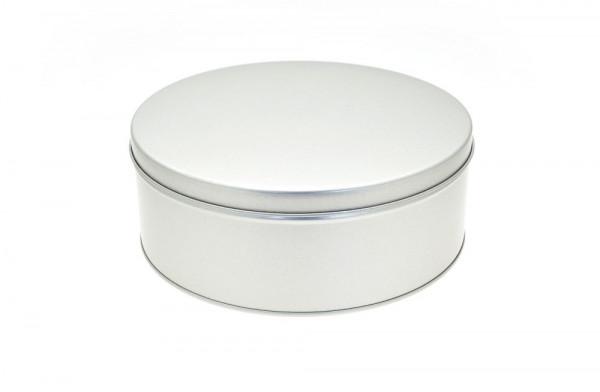 Pudełko metalowe na ciastka, okrągłe