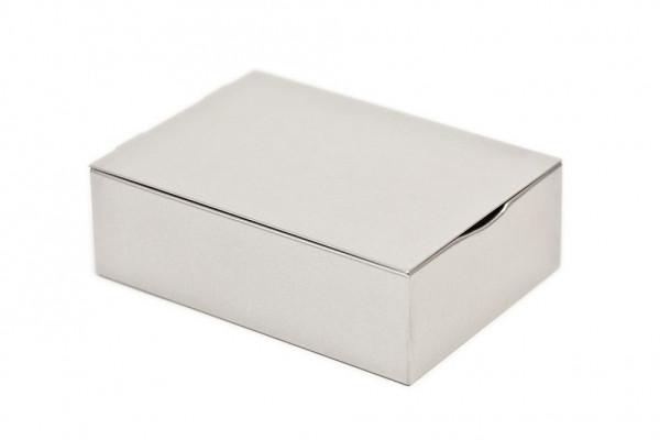 Pudełko metalowe na biżuterię