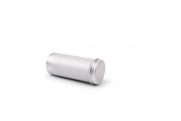 Okrągłe aluminiowe pudelko I 135ml