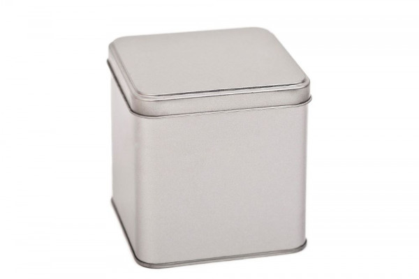 Kwadratowe pudełko metalowe