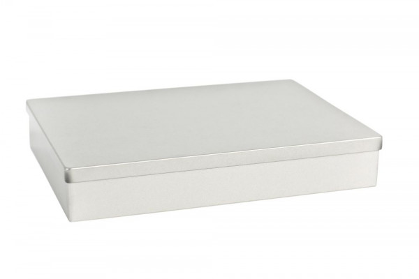 Metalowe pudełko prostokątne